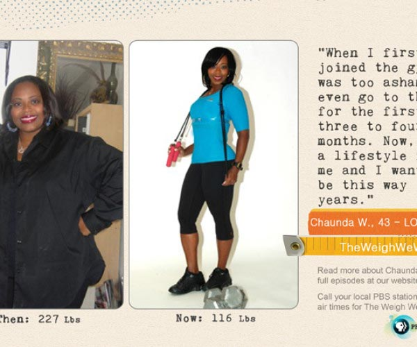 Chaunda Walls Lost 111 Pounds!