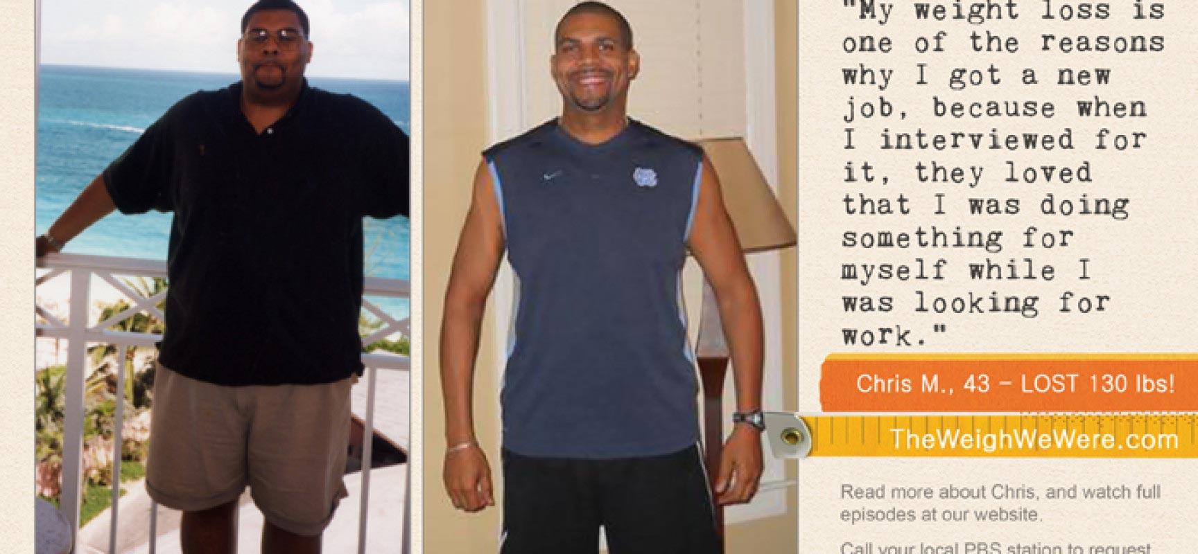Chris McKenzie Lost 130 Pounds