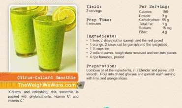 Citrus-Collard Smoothie