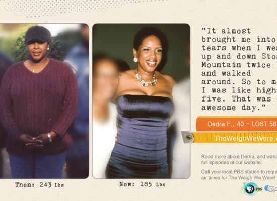 Dedra Fabre Lost 58 Pounds
