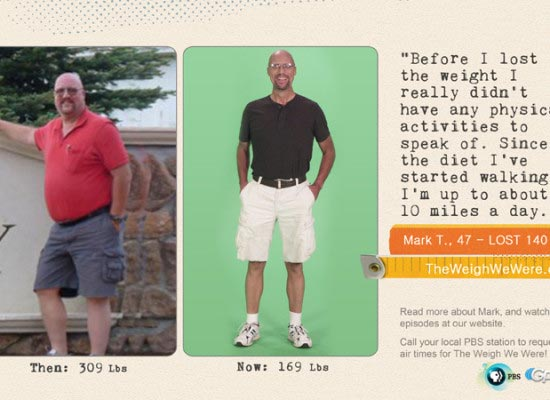 Mark Teems Lost 140 Pounds