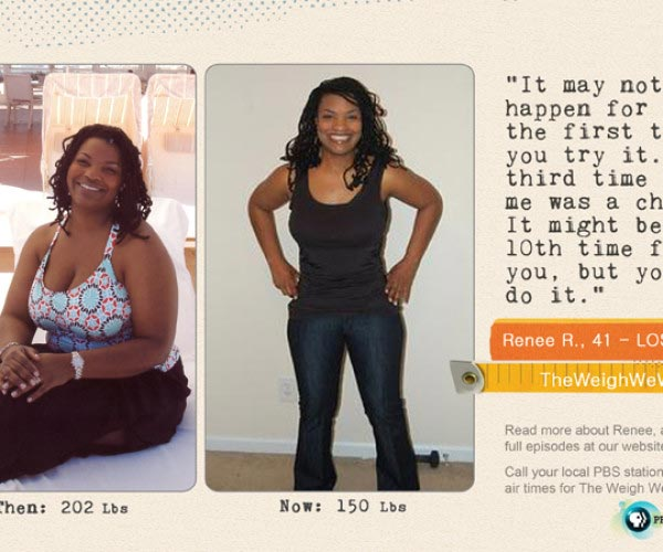 Renee Ross Lost 52 Pounds