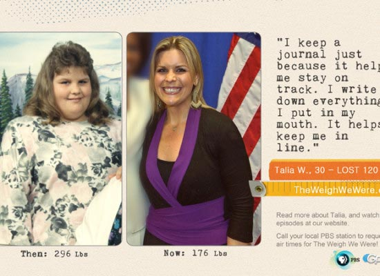 Talia Wade lost 120 Pounds