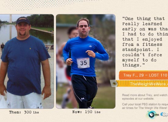 Trey Fowler Loses 110 Pounds