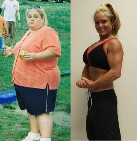 Great success story! Read before and after fitness transformation stories from women and men who hit weight loss goals and got THAT BODY with training and meal prep. Find inspiration, motivation, and workout tips | Jennifer Marnell loses 180 pounds