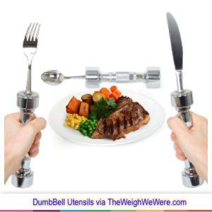 403 Dumb bell utensils