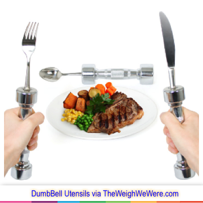 Great success story! Read before and after fitness transformation stories from women and men who hit weight loss goals and got THAT BODY with training and meal prep. Find inspiration, motivation, and workout tips | Review: Eat Fit Cutlery – The Original Dumbbell Utensils
