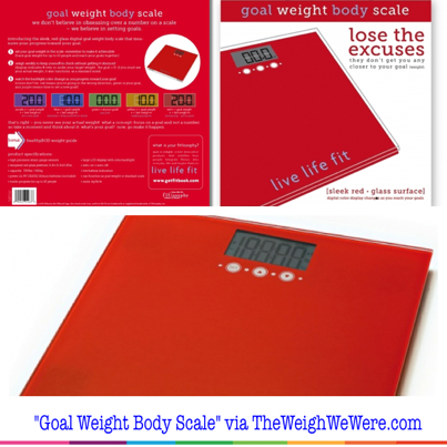 403 goal weight scale
