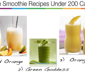 3 smoothie recipes