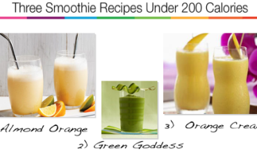 3 smoothie recipes