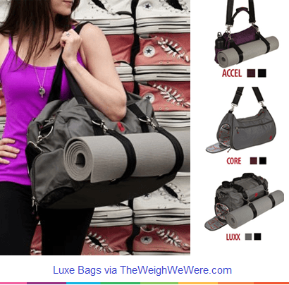 luxe gym bag