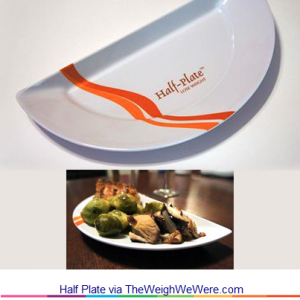 Half Plate – the Plate that Limits Food Portions but not Taste