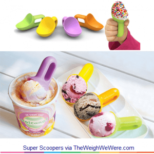 Super Scoopers – Colorful Scoops for On the Go Ice Cream