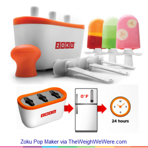 Zoku Pop Maker – the Quickest Home Ice Pop Maker