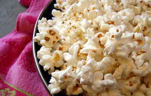 Healthy Snack!  Read why popcorn is healthier than many fruits and veggies…