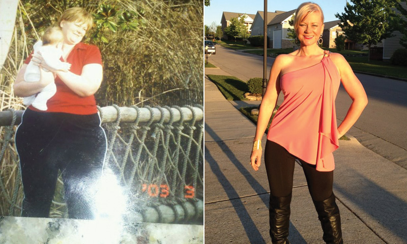 Great success story! Read before and after fitness transformation stories from women and men who hit weight loss goals and got THAT BODY with training and meal prep. Find inspiration, motivation, and workout tips | I Lost Weight: Corinne Crabtree Learned To Use Food As Fuel And Lost Over 100 Pounds