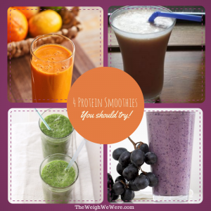 4 Protein Smoothies You Should Try