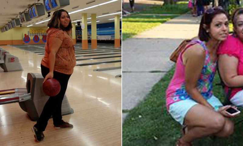 Great success story! Read before and after fitness transformation stories from women and men who hit weight loss goals and got THAT BODY with training and meal prep. Find inspiration, motivation, and workout tips | Alexandra Ramos Committed To Tracking Calories And Lost 174 Pounds