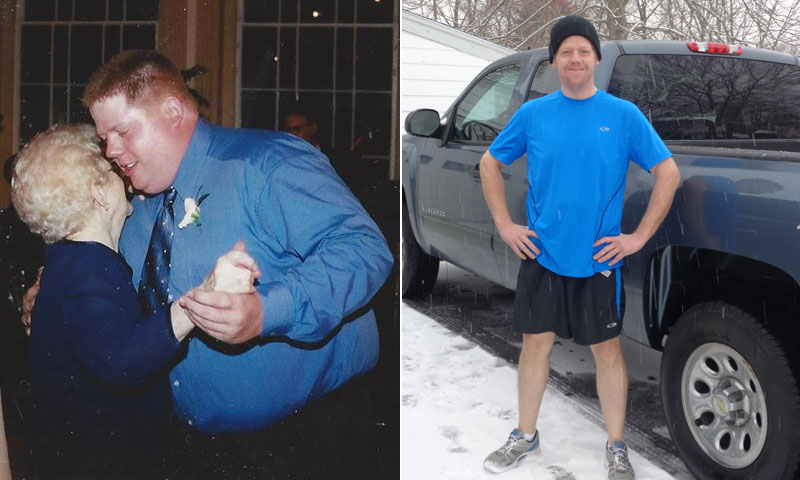 Great success story! Read before and after fitness transformation stories from women and men who hit weight loss goals and got THAT BODY with training and meal prep. Find inspiration, motivation, and workout tips | Concerned For The Safety Of His Patients As An EMT, Andrew Reardon Lost 190 Pounds