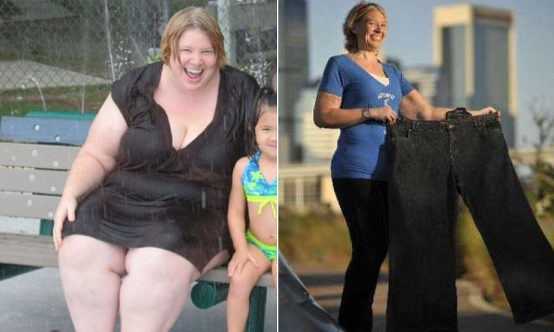 Great success story! Read before and after fitness transformation stories from women and men who hit weight loss goals and got THAT BODY with training and meal prep. Find inspiration, motivation, and workout tips | I Lost Weight: Becky Sigurnjak Lost 180 Pounds And Cant Sit Still