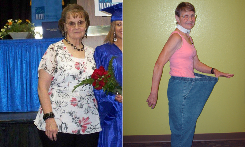 Great success story! Read before and after fitness transformation stories from women and men who hit weight loss goals and got THAT BODY with training and meal prep. Find inspiration, motivation, and workout tips | I Lost Weight: Betty Lou Sweeney, 72, Lost 115 Pounds And Set Record For Longest Abdominal Plank