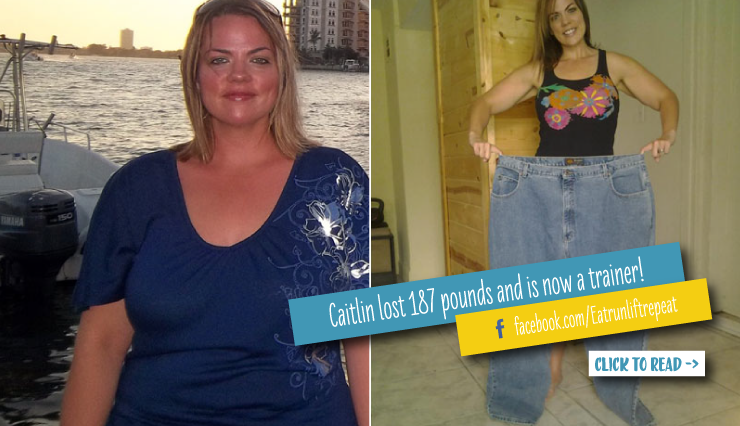Caitlin Flora Committed To Working Out At Home And Lost 187 Pounds