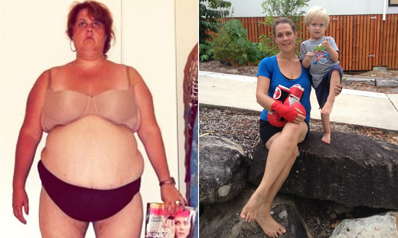 Great success story! Read before and after fitness transformation stories from women and men who hit weight loss goals and got THAT BODY with training and meal prep. Find inspiration, motivation, and workout tips | I Lost Weight: Cathy Sheargold Wanted To Experience Life With Her Son And Lost Nearly 200 Pounds