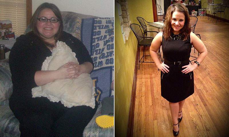 Great success story! Read before and after fitness transformation stories from women and men who hit weight loss goals and got THAT BODY with training and meal prep. Find inspiration, motivation, and workout tips | A Family Members Bold Remark Inspired Cayla Duncan To Lose 100 Pounds