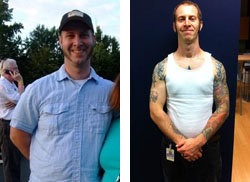 Great success story! Read before and after fitness transformation stories from women and men who hit weight loss goals and got THAT BODY with training and meal prep. Find inspiration, motivation, and workout tips | Getting Emotional About Living