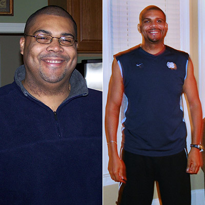 Great success story! Read before and after fitness transformation stories from women and men who hit weight loss goals and got THAT BODY with training and meal prep. Find inspiration, motivation, and workout tips | 130 Pounds Lost: Chris Lowers His Health Insurance Premiums