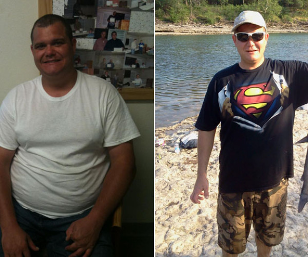 Cory Cantrell Didn't Like Who He Saw In The Mirror And And Lost 121 Pounds