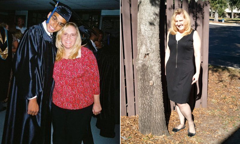 Great success story! Read before and after fitness transformation stories from women and men who hit weight loss goals and got THAT BODY with training and meal prep. Find inspiration, motivation, and workout tips | I Lost Weight: Courtney Dyer Cut Out Soda And Lost 107 Pounds