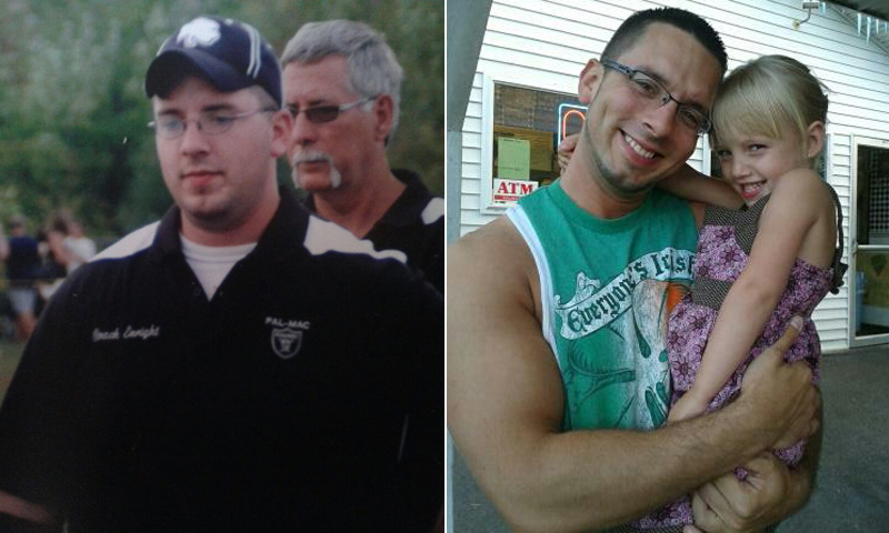Great success story! Read before and after fitness transformation stories from women and men who hit weight loss goals and got THAT BODY with training and meal prep. Find inspiration, motivation, and workout tips | I Lost Weight: Dan Enright Was Determined To Get Back To Running And Lost More Than 100 Pounds