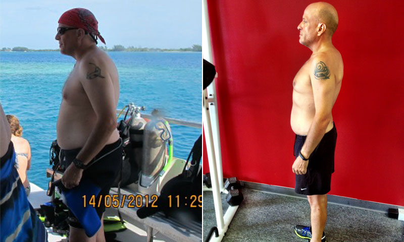 Great success story! Read before and after fitness transformation stories from women and men who hit weight loss goals and got THAT BODY with training and meal prep. Find inspiration, motivation, and workout tips | I Lost Weight: With Motivation From The Right Trainer, David Brown Lost 55 Pounds
