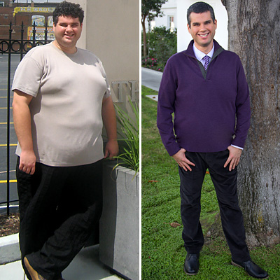 Great success story! Read before and after fitness transformation stories from women and men who hit weight loss goals and got THAT BODY with training and meal prep. Find inspiration, motivation, and workout tips | 160 Pounds Lost: David Gets Help From a Fitness Celebrity
