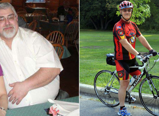 17 Years Later — And 165-Pounds Lighter — David Kari Rediscovered His Love For Cycling