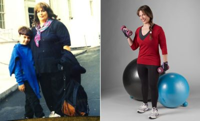 I Lost Weight: Debbie Lazinsky Committed To Exercising And Lost 182 Pounds