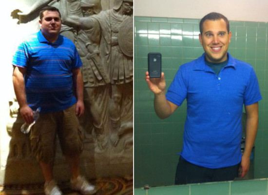 I Lost Weight: Derek Lavigne Focused On Weight Lifting And Cardio And Lost 90 Pounds
