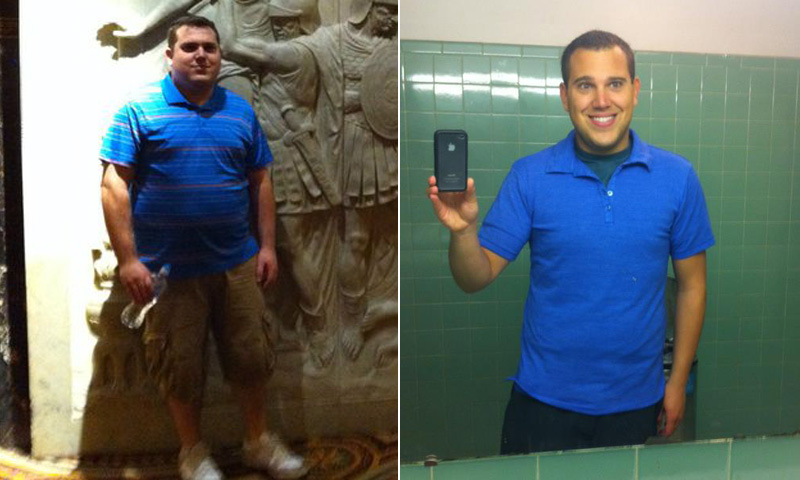 Great success story! Read before and after fitness transformation stories from women and men who hit weight loss goals and got THAT BODY with training and meal prep. Find inspiration, motivation, and workout tips | I Lost Weight: Derek Lavigne Focused On Weight Lifting And Cardio And Lost 90 Pounds