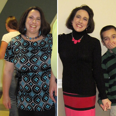 Great success story! Read before and after fitness transformation stories from women and men who hit weight loss goals and got THAT BODY with training and meal prep. Find inspiration, motivation, and workout tips | 93 Pounds Lost: Donna Overcomes Her Digestive Issues and Becomes a Better Mom to Her Child With Autism