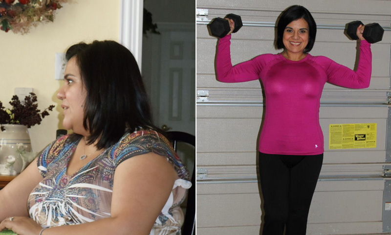 Great success story! Read before and after fitness transformation stories from women and men who hit weight loss goals and got THAT BODY with training and meal prep. Find inspiration, motivation, and workout tips | I Lost Weight: Elise Huffman Let Go Of A Painful Past And Lost 70 Pounds