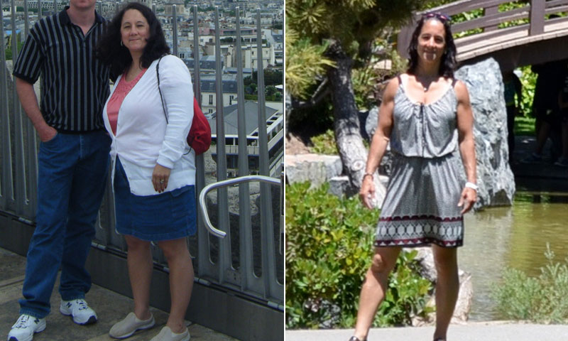 Great success story! Read before and after fitness transformation stories from women and men who hit weight loss goals and got THAT BODY with training and meal prep. Find inspiration, motivation, and workout tips | I Lost Weight: With A Motivation Boost From Her Daughter, Jacqui Olsen Lost 72 Pounds