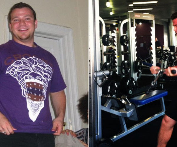 I Lost Weight: Jesse Barocas Committed To Working With A Trainer And Lost 55 Pounds