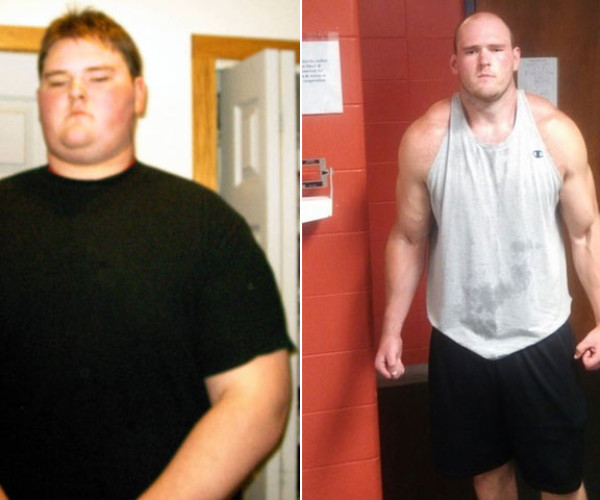 At His Lowest Point, John Baldenweck Wanted To End His Life. Then He Lost 205 Pounds.
