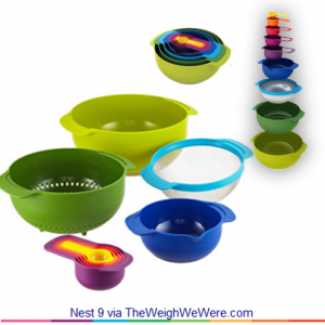 Nest 9 – the Practical Kitchenware Collection