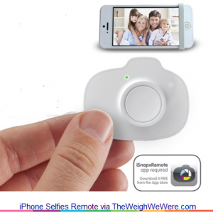 iPhone Selfies Remote – the Device that Allows You to Be in All Photos