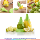 Lekue Citrus Sprayer – Adds a Healthy Citrusy Mist to Food