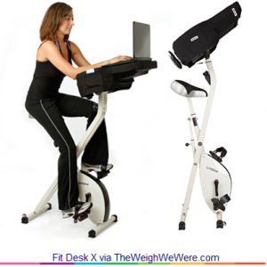 Fit Desk – the Great Way to Exercise While Working on Your Laptop