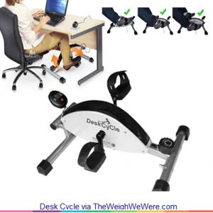 Desk Cycle- the Under-Desk Pedal that Keeps you Fit at Work