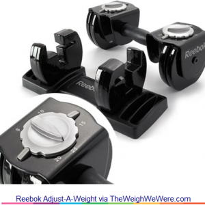 Reebok Adjust-A-Weight – the Dumbbells You Can Adjust While Working Out